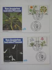(b940) BRD Bund Schmuck FDC Michel Nr. 1108-1111 Wohlfahrt 1981 Moorpflanzen