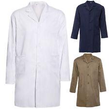 Lab Coat Laboratory Coat Warehouse Coat Doctor's Coat White Blue Brwon Brand New