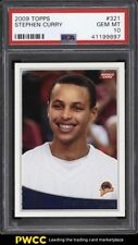 2009 Topps Basketball Stephen Curry ROOKIE RC #321 PSA 10 GEM MINT (PWCC)