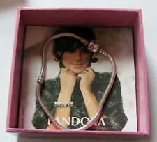 Retired PANDORA Bracelet With Original Collector Box & Brochure