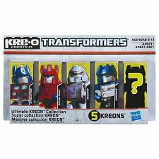 Kre-O A4641 A4642 Transformers Ultimate Kreon Collection Optimus Prime Bumblebee