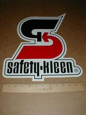 "Safety Kleen environmental NASCAR trailer Car Hood racing decal sticker 13"" inch"
