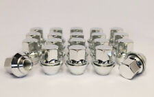 Ford Set of 20 x M12 x 1.5, OE Style, Alloy Wheel Nuts (Silver)