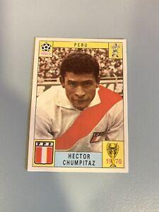 HECTOR CHUMPITAZ-PERU-Unused Panini Card World Cup Mexico 70 (1970)