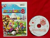 Mario Party 8 - Nintendo Wii /Wii U Game  Wario Yoshi Peach Luigi 1-4 Players