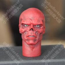 "1/6 scale Blank Head Sculpt Captain America RED SKULL Fit 12"" figure The Avenger"