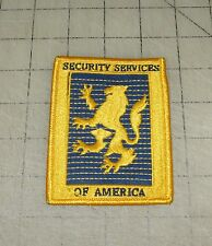 SECURITY SERVICES OF AMERICA 3