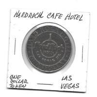 (A) So Called Dollar Hard Rock Cafe Hotel, 1 Dollar Token, Las Vegas, Nevada