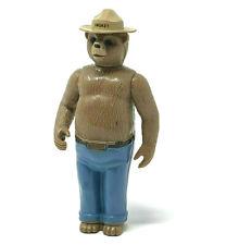"Vintage Tonka Smokey The Bear Plastic Toy Figure 4.25"" tall Made in HongKong GUC"