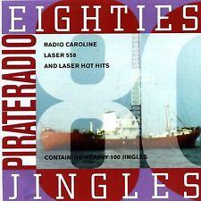 PIRATE RADIO JINGLES, From The Eighties (99 Jingles) Jumbo Label, Radio Caroline