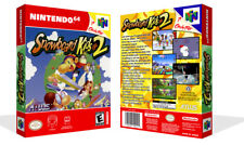 Snowboard Kids 2 N64 Replacement Game Case Box + Cover Art Artwork (No Game)