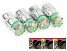 Lot 4 PCS TPMS pour Bouchon valve detecteur pneu indicateur visuel pression