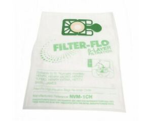 10 x For Numatic Henry Hetty James FILTER FLO Vacuum cleaner Hoover Bags NVM-1CH
