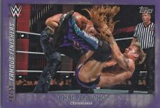 CHRIS JERICHO #14/50 PURPLE PARALLEL Topps WWE Undisputed Card FF-9 CODEBREAKER