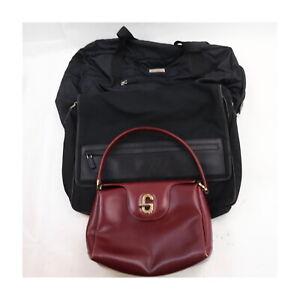 Gucci Nylon Leather Hand Bag Messenger Bag 3 pieces set 523711