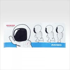 HONDA ASIMO Sports towel RUN white NEW 100% cotton from JAPAN