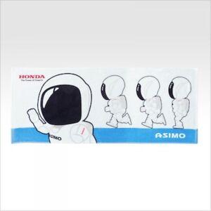 HONDA ASIMO Sports towel RUN white NEW 100% cotton from JAPAN