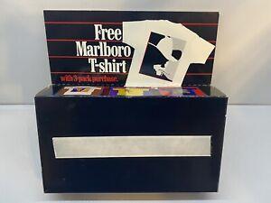 Vintage 90s Marlboro XL Cowboy Smoking Cigarette W/ Pocket T-Shirt NIB/NOS