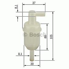 Kraftstofffilter - Bosch 0 450 904 077
