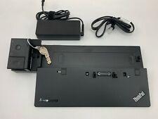 New listing Lenovo Thinkpad Ultra Dock Type 40A2 Sd20A06046 90W Fru04W3956 With Keys