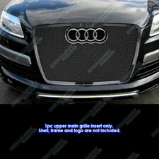 Fits 2007-2009 Audi Q7 Stainless Steel Black Mesh Grille Grill Insert