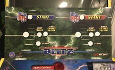 NFL Blitz CPO 2 Player Arcade Control Panel Overlay Decal Sticker Midway