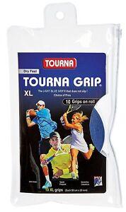 Tourna Grip Original XL - Blue - 10 Pack Overgrip Overgrips Tennis