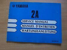 Service manual Werkstatthandbuch Yamaha Außenborder 2 A 2 PS manuel d`entrtien
