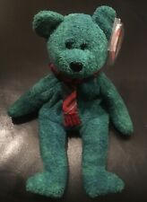 RETIRED Ty Beanie Baby  WALLACE BEAR ERRORS With Tags RARE