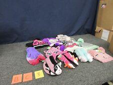 11 Girls Joe Boxer Wonder Kids Slippers Hat Gloves Knit Youth 6-13.5 Sm Bulk Lot