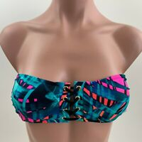 Victoria's Secret PINK Swim Lightly Lined Floral Bikini Top - Multicolor XS  NWT