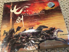 7 SEVEN SWORDS / SAMURAI TSUI HARK ORIGINAL OST Original cd movie Soundtrack