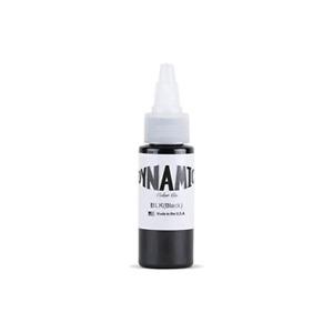 DYNAMIC Tattoo Ink 1-oz & 8-oz: Black,Triple Black,White & Heavy White