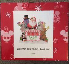 Disney Parks Light Up Countdown Christmas Calendar Mickey And Minnie