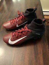 Nike Vapor Untouchable Pro 3 Football Cleats Size 12 Maroon Black Ao3021-004