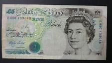England 5 Pounds (VF With Small Tear)
