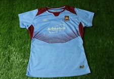WEST HAM UNITED 2004/2006 WOMENS FOOTBALL SHIRT JERSEY AWAY REEBOK ORIGINAL
