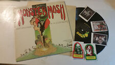 BORIS PICKETT ORIG MONSTER MASH LP LONDON PARROT '73 w/3 stickers halloween !!
