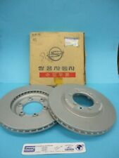 Pair Front Brake Discs Original Ssangyong Rexton Korando Musso 4144106210