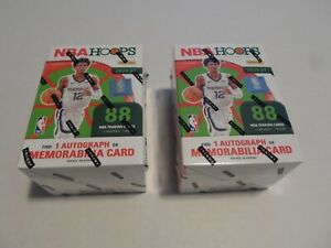 *Lot of 2* 2020-21 Panini NBA Hoops Blaster Boxes FACTORY SEALED ZION JA MELO RC