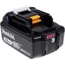 Akku für Makita Baustellenradio BMR103B 3000mAh mit LED Original 18V 3000mAh/54W