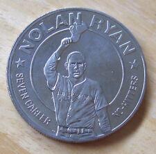 1993 Liberia One Dollar Coin  Nolan Ryan Seven Career No Hitters ,Baseball great