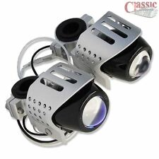 Motorcycle Spot/Fog Auxiliary Lights Round Pair Suits BMW GS1200
