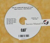 Cat Caterpillar D4H III Track-Type Tractor 9GJ Service Repair Manual in USB