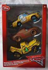 Disney Store Pixar Cars 3 T-Bone Chester Whipplefilter & Taco 1:43 Die Cast NEW