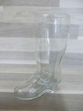 Alte glas stiefel bier - bierglas laars bot