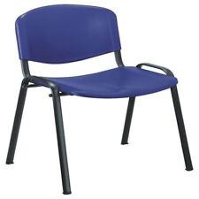 Jemini Multipurpose Polypropylene Stacking Blue Chair KF72368 [KF72368]
