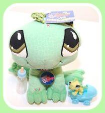 ❤️NWT Authentic Littlest Pet Shop #850 VIP Iguana Lizard Plush Toy MOM & BABY❤️
