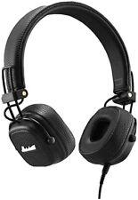 Marshall Major III Foldable Wired Headphones - Black