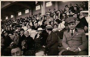 FOTO ANNI 30 - ALESSANDRIA MILITARE REGIO ESERCITO IN STADIO DI CALCIO